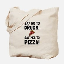 Yes To Pizza Tote Bag