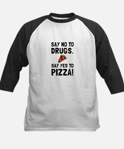 Yes To Pizza Baseball Jersey