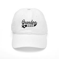 Grandpa 2015 Baseball Baseball Cap