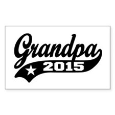 Grandpa 2015 Decal
