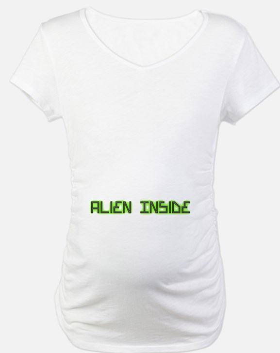Alien Inside pregnancy Shirt