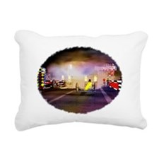 Beeline Dragway Tribute Rectangular Canvas Pillow