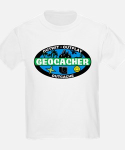Geocacher Kids T-Shirt