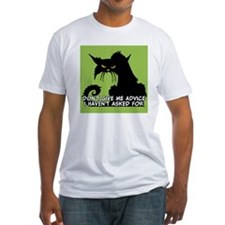 Don't Give Me Advice Angry Cat Sayi Shirt