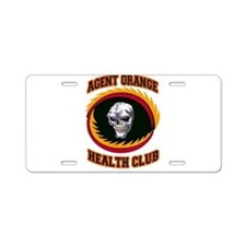Cool American soldier Aluminum License Plate