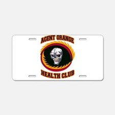 Funny American soldier Aluminum License Plate