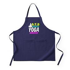Funny Yoga Apron (dark)