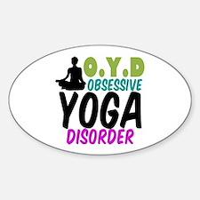 Funny Yoga Decal