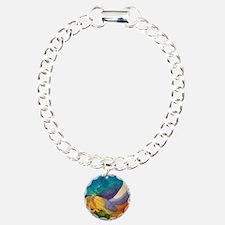 Unique Mixed media Bracelet