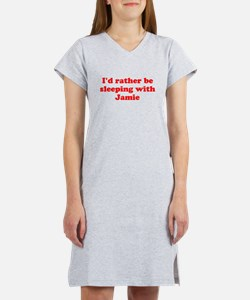I'd Rather Be Sleeping With Women's Nightshirt