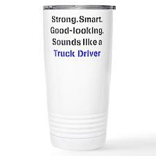 Cute Truck driver Travel Mug