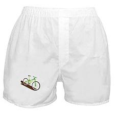 Green Mountain Bike Boxer Shorts