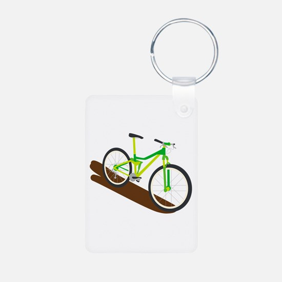 Green Mountain Bike Keychains