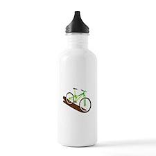 Green Mountain Bike Water Bottle
