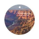 Grand canyon Round Ornaments