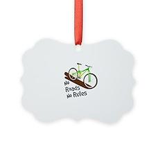 No Roads No Rules Ornament