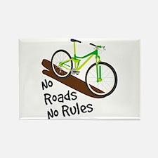 No Roads No Rules Magnets