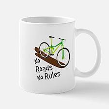 No Roads No Rules Mugs