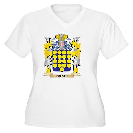 Calvet Coat of Arms - Family Cre Plus Size T-Shirt