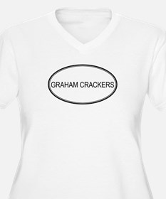 GRAHAM CRACKERS (oval) T-Shirt