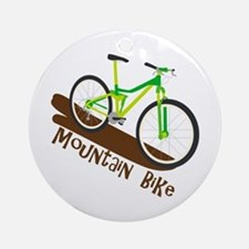 Mountain Bike Ornament (Round)