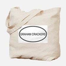 GRAHAM CRACKERS (oval) Tote Bag