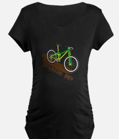 Mountain Bike Maternity T-Shirt