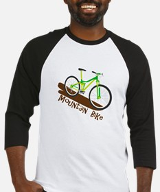 Mountain Bike Baseball Jersey