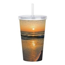 Unique Tranquil Acrylic Double-wall Tumbler
