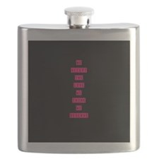Cute Think pink Flask