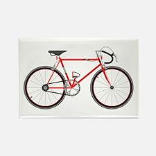 Red Road Bike Magnets