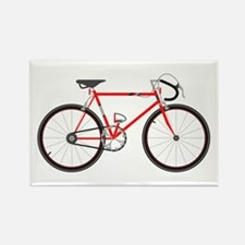 Red Road Bike Magnets