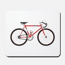 Red Road Bike Mousepad