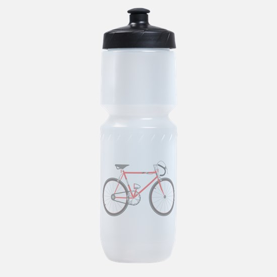 Red Road Bike Sports Bottle