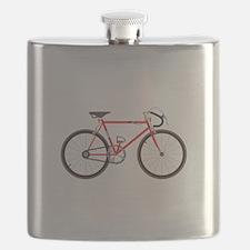 Red Road Bike Flask