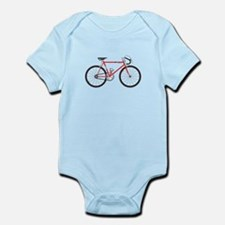 Red Road Bike Body Suit
