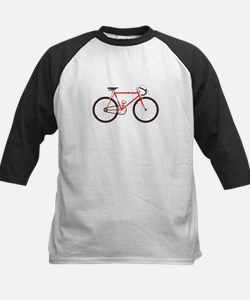 Red Road Bike Baseball Jersey