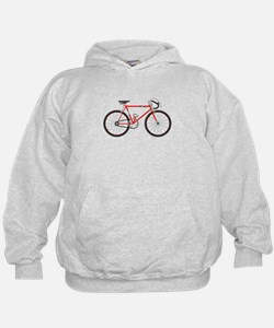 Red Road Bike Hoodie