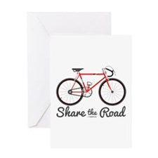 Share The Road Greeting Cards