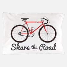 Share The Road Pillow Case