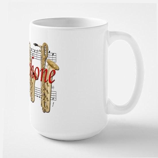 Saxophone Large Mug