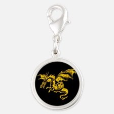 Golden Dragon Charms