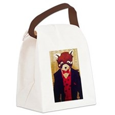Unique Panda suit Canvas Lunch Bag