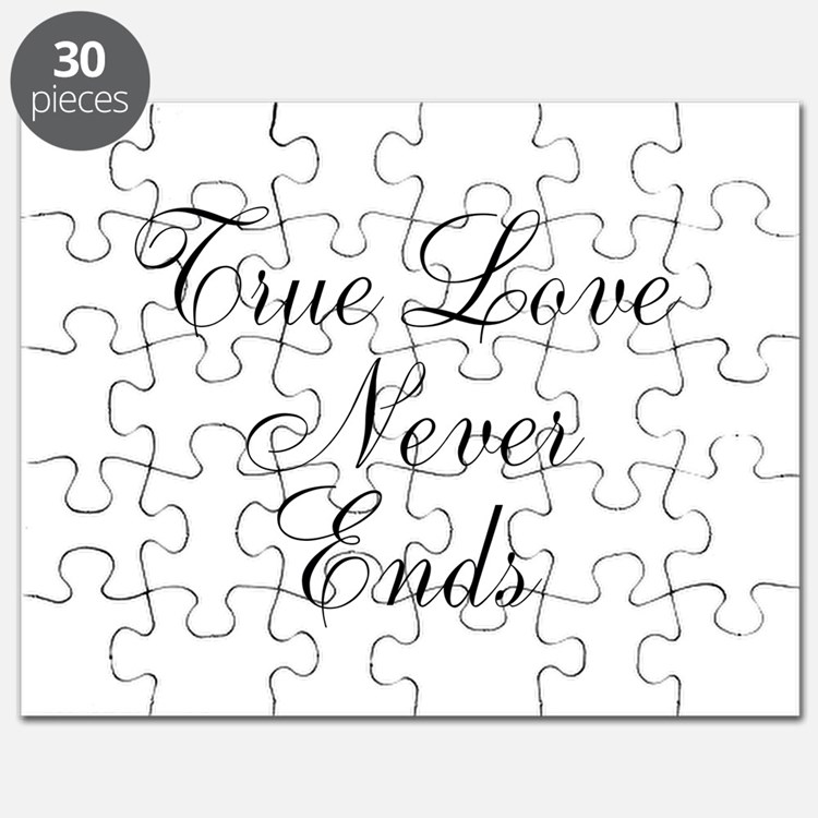 True Love Never Ends Puzzle