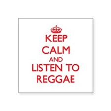 Keep calm and listen to REGGAE Sticker