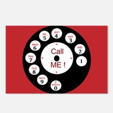 Call Me Rotary Dial Postcards (Package of 8)