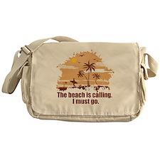 The beach is calling. Messenger Bag