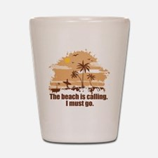 The beach is calling. Shot Glass