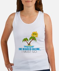The beach is calling. Tank Top