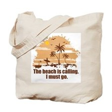 The beach is calling. Tote Bag